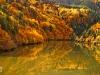 Autumn in Teshel dam
