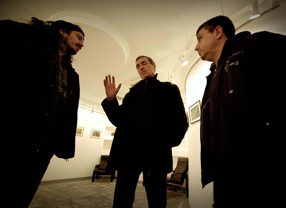 Александър Иванов, Петър Крусев и Пенчо Чуков