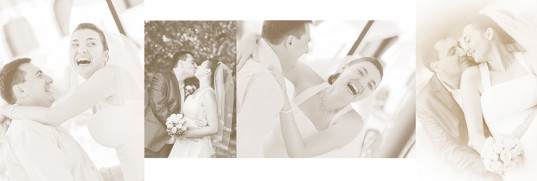 сватбен фото албум -сепия